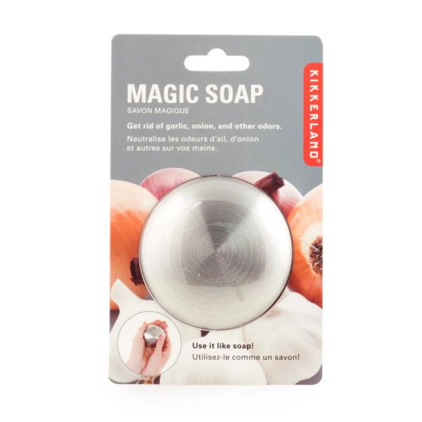 Kikkerland Magic Stainless Steel Soap