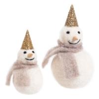 Accent Decor Felt Frosty Snowman
