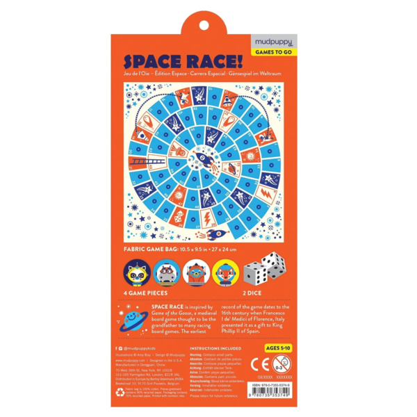 Chronicle Books Game| Travel Space Race