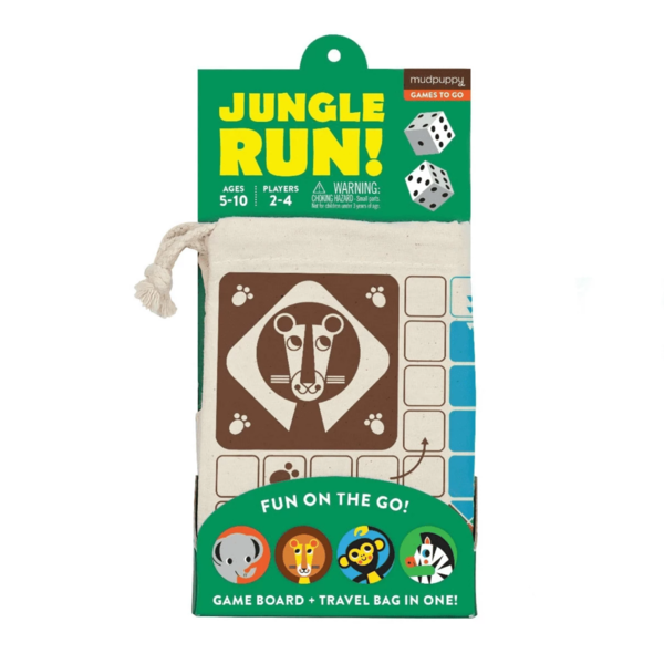 Chronicle Books Game | Travel Jungle Run