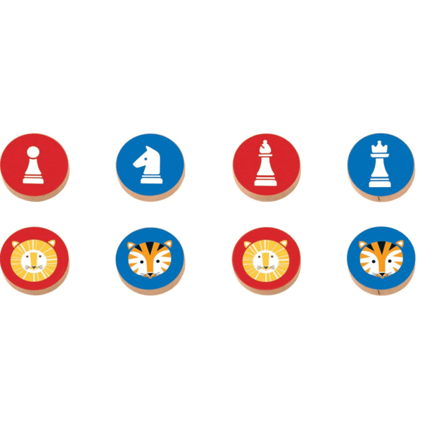 Chronicle Books Game | Chess & Checkers