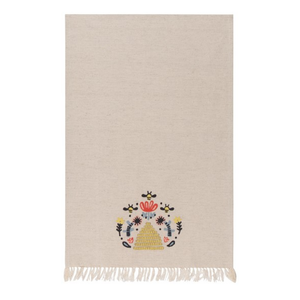 Now Designs Tea Towel | Embroidered Frida