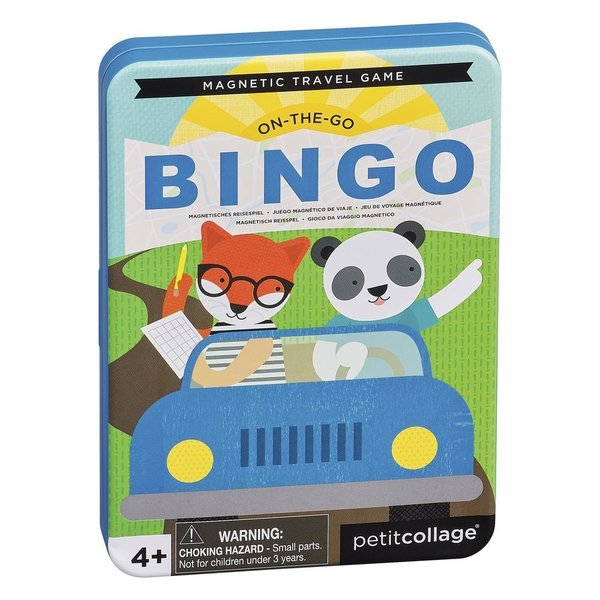 Petit Collage Game Tin | Bingo