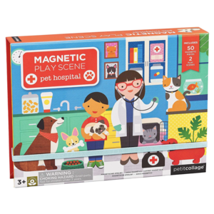 Petit Collage Magnetic Easel | Veterinarian