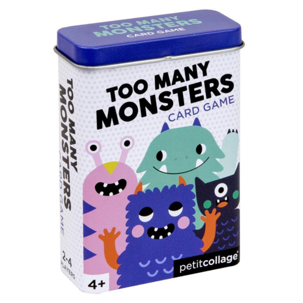 Petit Collage Card Game Tin | Monsters