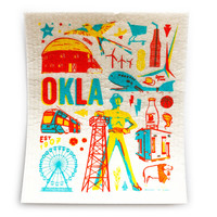 Fiddler's Elbow Hydro Cloth | Oklahoma Icons