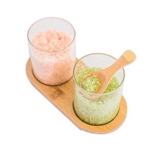 Yuzu Soap Bath Salt Set   Lavender Citrus/Matcha Mint