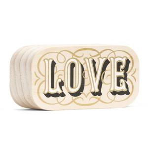 Wood Sign | Mini | Love