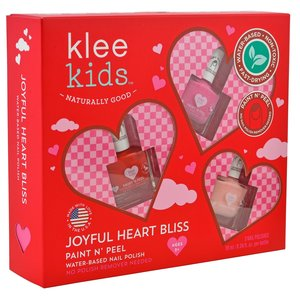 Klee Naturals Nail Polish | 3-Piece Set | Joyful Hearts