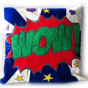 La Casa Cotzal Pillow | Pop Art