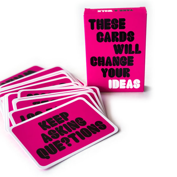 Chronicle Books Card Set | These Cards Will Change Your Ideas