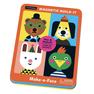 Chronicle Books Game | Magnetic Build-it | Make-A-Face