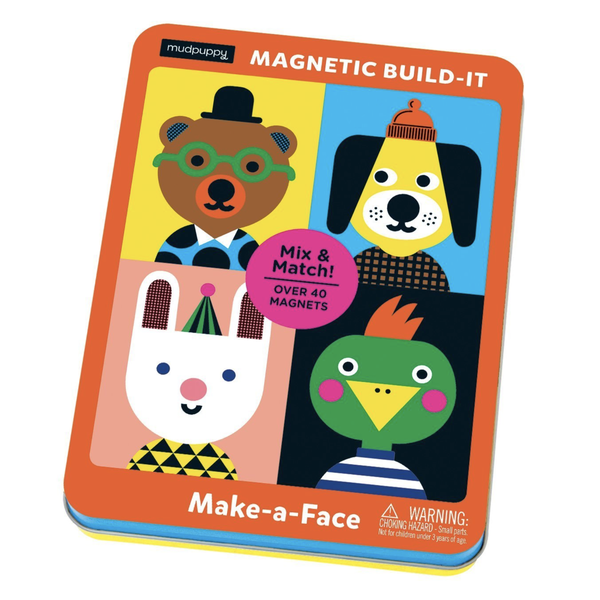 Chronicle Books Magnetic Set | Make A Face
