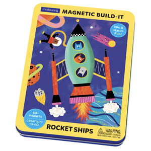 Chronicle Books Magnetic Set | Rocket Ships