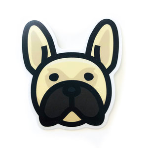 Stickers Northwest Sticker | Dog Frenchie Face