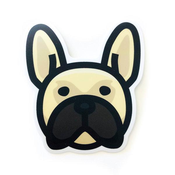 Stickers Northwest Sticker | Dog Frenchie Face