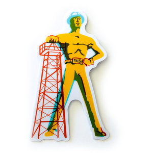 Stickers Northwest Sticker | Tulsa Driller