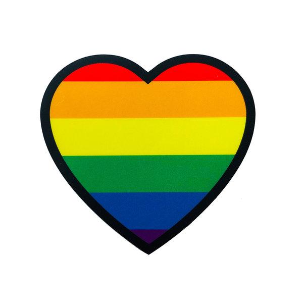 Stickers Northwest Sticker | Heart Rainbow