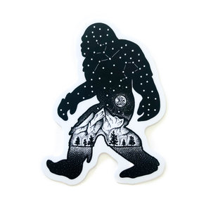 Stickers Northwest Sticker | Sasquatch Constellation