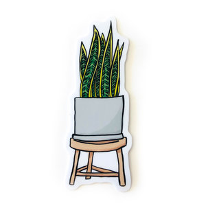 Stickers Northwest Sticker | Plant Snake Plant