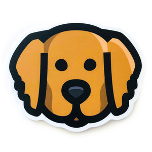 Stickers Northwest Sticker | Dog Golden Retriever Face