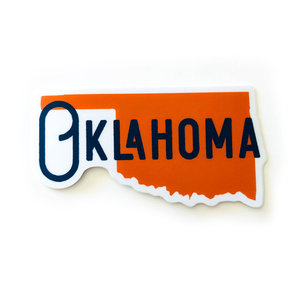 Stickers Northwest Sticker | Oklahoma State Name
