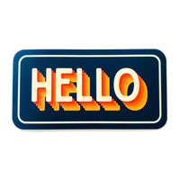 Stickers Northwest Sticker | Say: Hello