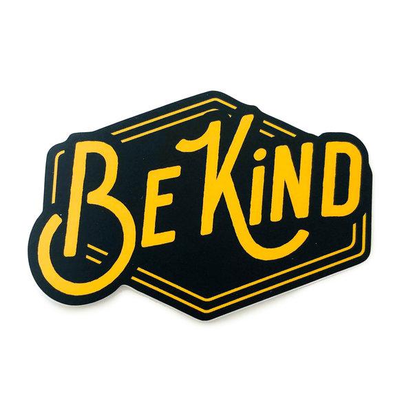 Stickers Northwest Sticker | Say: Be Kind Yellow/Black