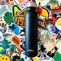 Swig Bottle | 20oz | Matte Black
