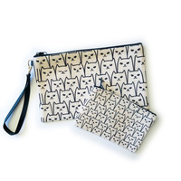 Counter Couture Bag Zip Pouch | Cats | Large