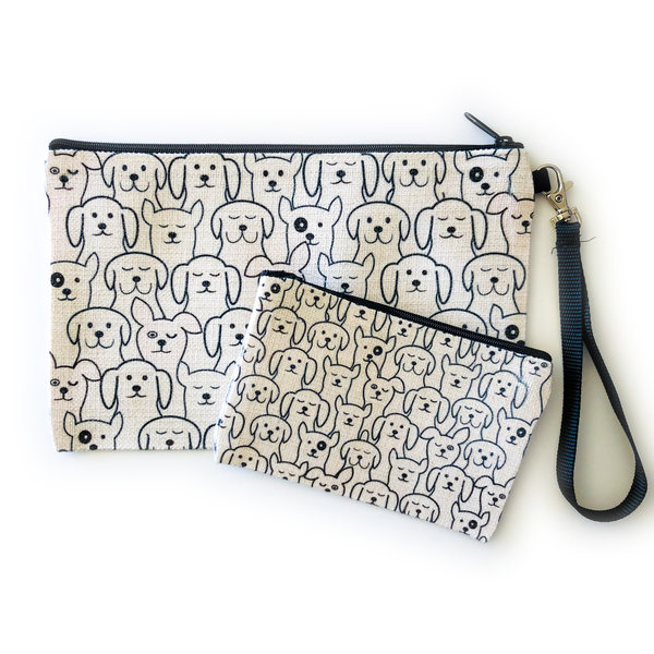 Counter Couture Bag Zip Pouch | Dogs | Large