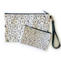 Counter Couture Bag Zip Pouch | Dogs | Small