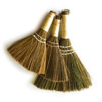 Whisk Broom | White Handle | Set of 3