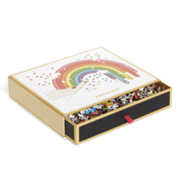 Chronicle Books Puzzle | 750PC Shaped | Jonathan Adler Rainbow