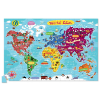 Crocodile Creek Puzzle+Poster   200PC   World Cities