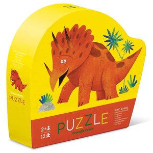 Crocodile Creek Puzzle   12PC   Mini Dino Dance