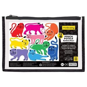 Puzzle | 12PC | Rainbow Roar Pouch