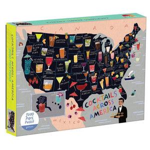 Puzzle   1000PC   Cocktails Across America