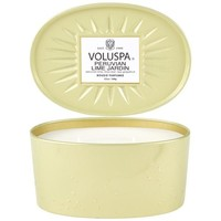 VOLUSPA Candle | 2-Wick Tin | Peruvian Lime