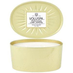 VOLUSPA Candle   2-Wick Tin   Peruvian Lime