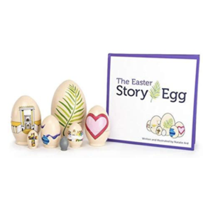 Star Kids Company Book Set | Easter Story Egg