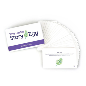 Star Kids Company Scripture Cards | Easter Story Egg