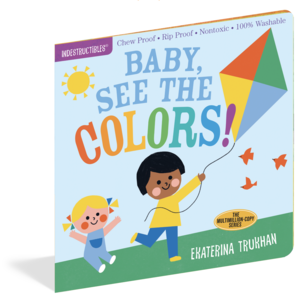 Workman Publishing Book | Indestructibles | Baby See Colors
