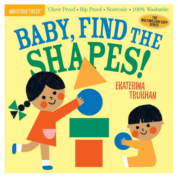 Workman Publishing Book | Indestructibles | Baby Find Shapes