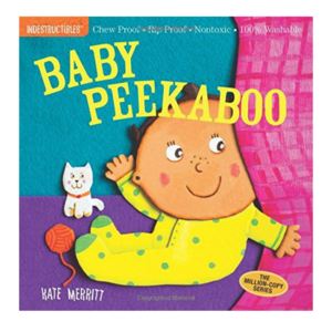 Workman Publishing Book | Indestructibles | Baby Peekaboo