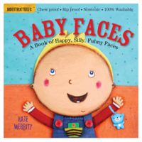 Workman Publishing Book | Indestructibles | Baby Faces