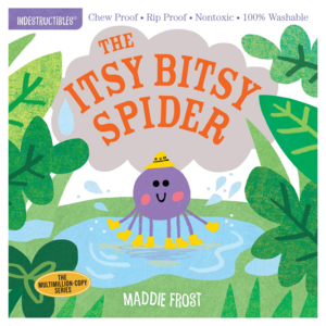 Workman Publishing Book | Indestructibles | Itsy Bitsy Spider