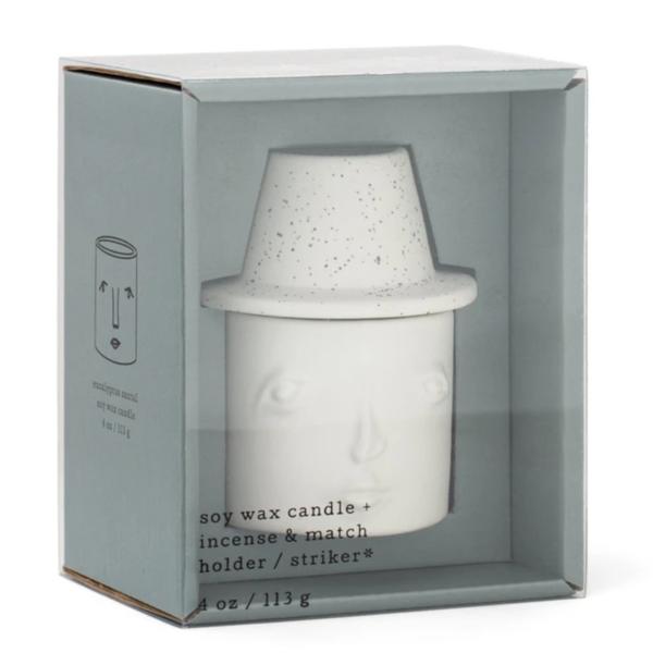 Paddywax Candle Match Striker | 4oz | Eucalyptus Santal