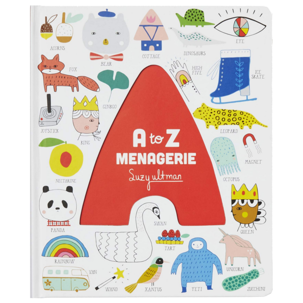 Chronicle Books Board Book | A To Z Menagerie