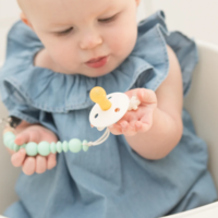 Baby Silicone Pacifier Clips